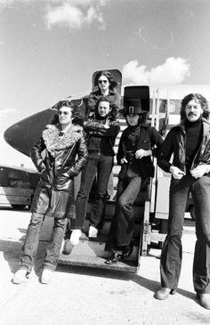 deep purple, us tour, 1974 / glenn hughes, david coverdale, ian paice, ritchie blackmore & jon lord.