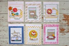 Mish Mash: Greeting cards from Gossamer Blue August Kits - journaling cards & embellies Project Life Karten, Project Life Cards, Gossamer Blue, Mish Mash, Pretty Cards, Card Sketches, Journal Cards, Paper Cards, Cool Cards