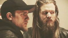 Charlie Hunnam & Ryan Hurst (Sons of Anarchy)