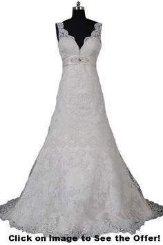 Sunvary Sexy Back Open Lace Mermaid Bride Dresses Wedding Gowns Long Mermaid Bride Dresses, Lace Mermaid, Long Wedding Dresses, Wedding Gowns, Hi Fashion, Marry You, One Shoulder Wedding Dress, Wedding Stuff, Wedding Ideas