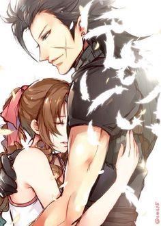 Zack and Aerith - Final Fantasy VII: Crisis Core