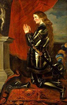 Jeanne d'Arc – by Peter Paul Rubens