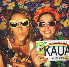 Kauai Photo Booth, Kauai Events Entertainment, Making Memories, Having Fun, Island Lifestyle, Aloha