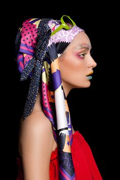 Dwayne Foong #photography. Love the colors and the makeup!