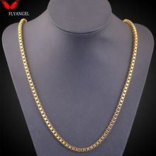 Fashion 1mm Width Kpop 18K Real Gold Plated Snake Choker Men Women Cuban Jewelry Gift Long Sweater Chain Necklace for Christmas(China (Mainland))