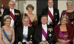 Máxima de Holanda y Matilde de Bélgica, dos Reinas de diamantes en el Palacio Real de Ámsterdam