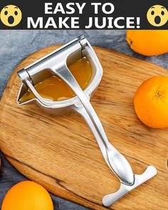 Gadgets 205617539226914754 - Healthy, fresh juices made easy! 😍😍😍 🍒 First 100 Customers Get OFF🥤 🍋 Squeeze Any Kind Of Citrus Fruit With Ease Source by mangusimichle Cooking With Kids Easy, Cooking Recipes For Dinner, Easy Meals For Kids, Fruit Juicer, Citrus Juicer, Cake Cooking Videos, Canned Juice, Manual Juicer, Cool Kitchen Gadgets