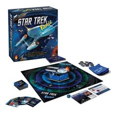 The Star Trek Panic Co-Op Game is going to be hours of fun for Star Trek fans. This game is a cooperative, light strategy tower defense game based on the popular Castle Panic game!   You will have to work together to carry out missions while keeping the U.S.S. Enterprise safe from enemy attack