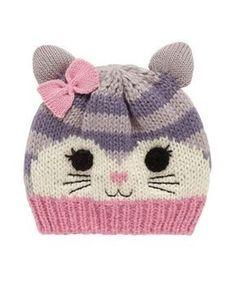 33 Ideas crochet cat beanie pattern free knitting for 2019 – Amigurumi Free Pattern İdeas. Beanie Pattern Free, Baby Hat Knitting Pattern, Baby Hats Knitting, Knitting For Kids, Free Knitting, Knitted Hats, Knitting Ideas, Crochet Beanie, Crochet Baby