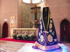 Visita da imagem peregrina na Paróquia Santa Cruz do Senhor