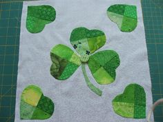 National Quilt Day/St. Patricks Day/Spring Challenge