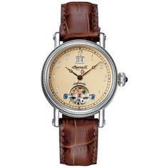 Watches, Leather, Outfits, Fashion, Ingersoll Watches, Classic Mens Style, Stainless Steel Case, Man Women, Moda