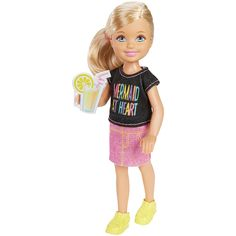 Barbie™ and Her Sisters in a Puppy Chase - Chelsea™ Doll - Mermaid T-Shirt | DMD94 | Barbie