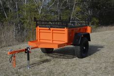 I grew up liking tractors more than sports cars. My designs show it. The cornerstones of a Morris Mule Trailer are functionality, simplicity and strength. With proper care your great...