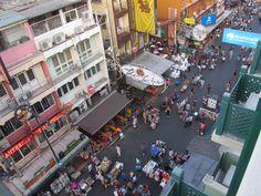 Bangkok, Thailand - Khaosan Road Joko, Bangkok Thailand, Some Pictures, Times Square, Places, Travel, Voyage, Viajes, Traveling