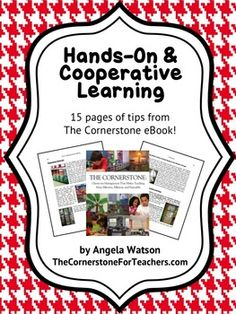 Hands-On and Cooperative Learning Tips (free)