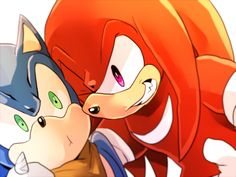 Knuckles wut are you doin ? o_e
