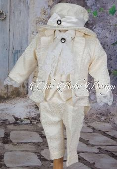 Christening Boy Outfit, Baptism Boy Outfit, Baptism boy suit, Blessing outfit, Wedding Boy Outfit, Baptism Boy Outfit, Ring Bearer Outfit Baby Boy Suit, Ring Bearer Outfit, Boy Baptism, Boys Suits, Boy First Birthday, The Little Prince, Baby Wearing, Blessing, Boy Outfits