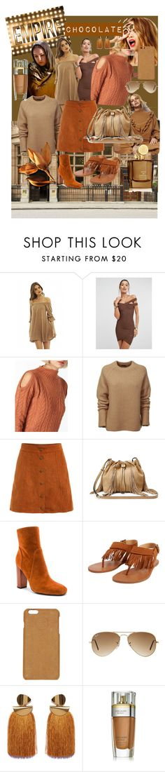 """CHOCOLATE"" by luthfiyyah-rachmawati on Polyvore featuring Celestine, Missguided, Dorothy Perkins, Joseph, Diane Von Furstenberg, 10 Crosby Derek Lam, Billabong, Maison Margiela, Ray-Ban and Lizzie Fortunato"