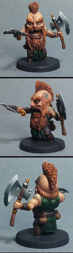 Spike, painted by Maenas. From Arcadia Quest Game.