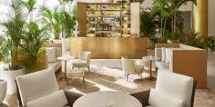Lobby Bar Miami Beach Edition, color combination <3