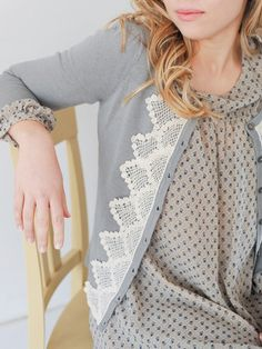 Sweet Nothings Lace Cardigan | shopgracieb.com