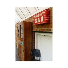 Large Red Retro metal whiskey bar wall sign in large for hanging on your living room bar or bedroom walls, vintage retro in the way forward Garden Bar Shed, Living Room Bar, Wall Bar, Bar Signs, Vintage Walls, Bedroom Wall, Whiskey, Retro Vintage, Wall Decor