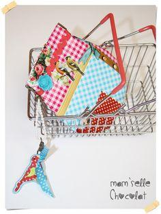 Monedero de tela Hule con cierre clic clac  - Oilcloth fabric purse flex frame