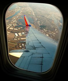 Plane views from my window seat - Leaving Portland on Southwest Airlines | Flickr