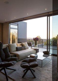 Concrete House | Inside Outside Bedroom | Nico van der Meulen Architects, M Square Lifestyle Design and Necessities  #Design #Architecture #Concrete #Contemporary #sleeping #inside #outside