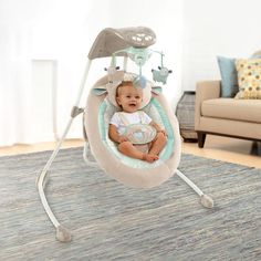 "Ingenuity InLighten Cradling Swing - Babies ""R"" Us"