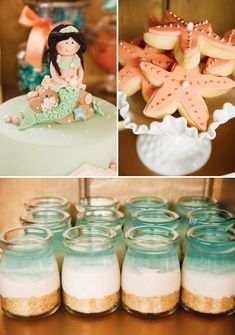 {Under the Sea} Gorgeous Mermaid Birthday Party by Couture Event Styling. White Spark Photography.