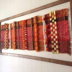Weaving Textiles, Tapestry Weaving, Loom Weaving, Hand Weaving, Textiles Techniques, Textile Fiber Art, Basket Weaving, Spinning, Presentation