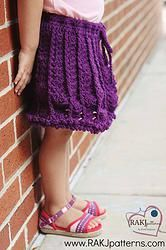 Free Crochet Pattern: Brianna Miniskirt