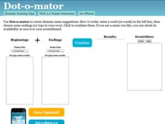 Dominio 5 herramientas que te ayudaran a escogerlo http://blgs.co/0KN0iz