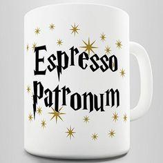 Espresso Patronum Novelty Mug