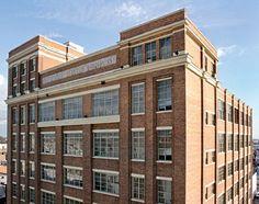 Bethenny Frankel's Remodelled TriBeCa Loft - the building -Traditional Home®