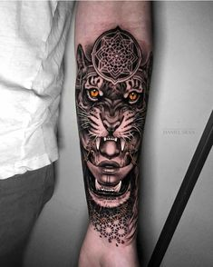 Bohemian tattoo (by Daniel Silva) Mandala Tattoo – Fashion Tattoos Forarm Tattoos, Dope Tattoos, Cool Tattoos For Guys, Trendy Tattoos, Leg Tattoos, Body Art Tattoos, Tatto For Men, Mandala Tattoo Sleeve, Tattoo Sleeve Designs