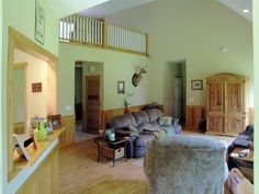 Country Style Great Room in Plan 016D-0059   House Plans and More