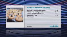 Recepty Ládi Hrušky: Máslové sušenky
