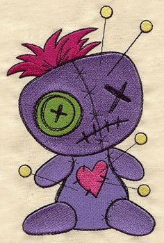 Voodoo+Doll++Who+Has+The+Power+of+Voodoo+by+EmbroideryEverywhere,+$14.99