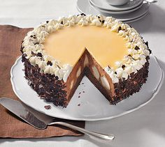 Schokosahne-Windbeutel-Torte