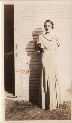 Vintage photograph of fashionable woman snapshot by lucyandfaye