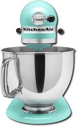 Mint KitchenAid, for you Jennifer!!!