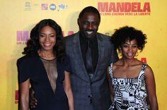 Naomie Harris au côté de Idris Elba pour l'avant-première de Mandela : un long chemin vers la liberté