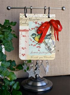 Christmas countdown calendar with tutorial and downloads.