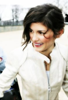 Audrey Tautou, what an adorable lovely lady