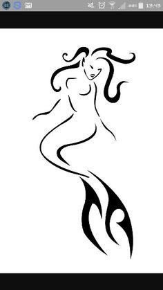 Awesome mermaid tatoo