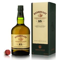 Redbreast 15 Year Old Single Pot Still Irish Whiskey Irish Whiskey Brands, Best Irish Whiskey, Whiskey And You, Scotch Whiskey, Bourbon Whiskey, Sour Cocktail, Cocktail Drinks, Whiskey Smash, Whisky Shop
