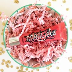 Add some irresistible, punchy-pink #gloss to your look today. Glide on #CORALista for #silky, smooth #lips in an instant! #benefitcosmetics